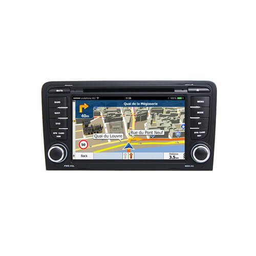 Audi A3 2003- Car Audio System with GPS