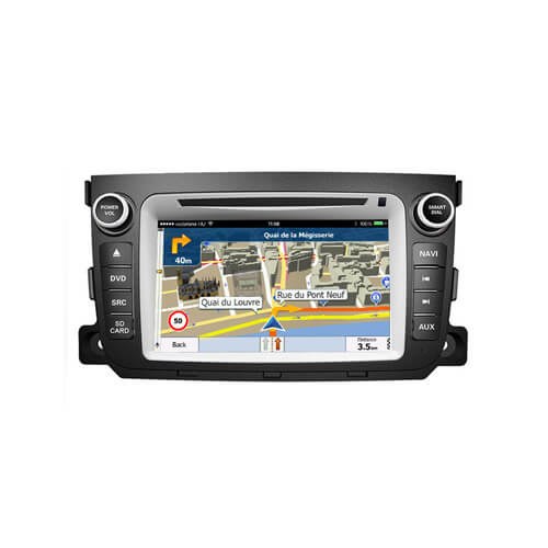 Mercedes Benz Smart Fortwo Android Double Din DVD Player