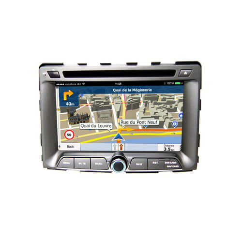 Ssangyong Rodius Rexton Auto Navigation System