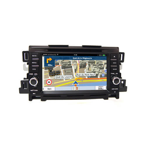 Mazda CX5 CX-5 Mazda 6 Double Din Touch Screen