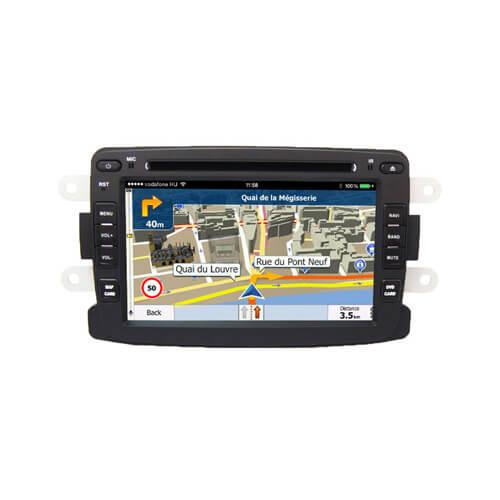 Renault Duster Logan Sandero Car Audio Navigation System