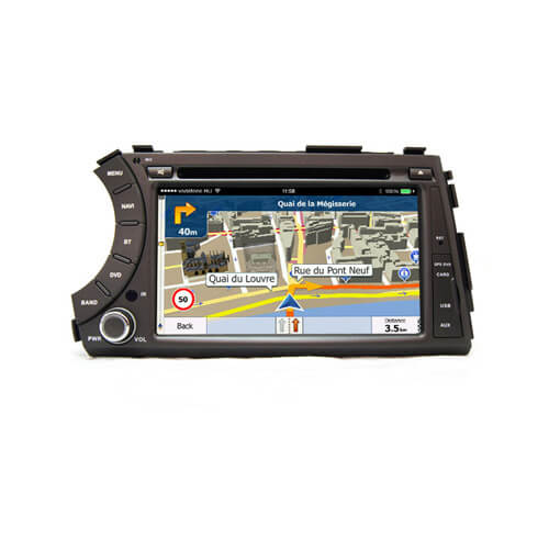 Ssangyong Kyron Actyon Tradie 2005-2012 Car LCD Display