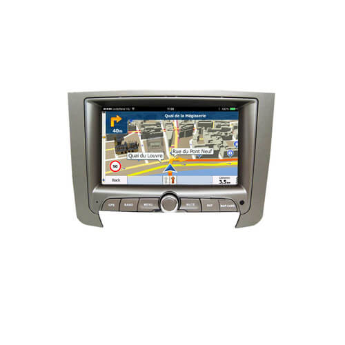 Ssangyong Rexton W Double Din Car Stereo Player