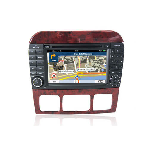 Mercedes Benz S Class W220 Android Car Multimedia Player