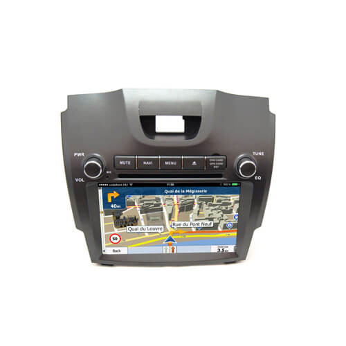 Chevrolet S10/Trailblazer Integrated Navigation System