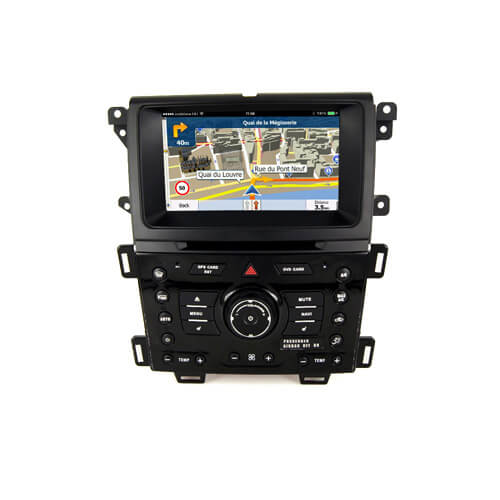 Ford Edge 2013-2015 Double Din Dash Kit With Screen