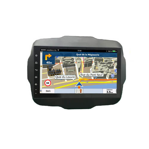 Jeep Renegade Car GPS Navigation With Android System