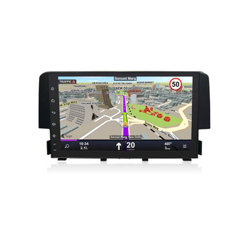 In-Dash Car Stereo For Honda Civic 2016 Navigation Player