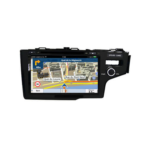 In-Dash Car PC System GPS Navigation For Honda Fit 2014 (Right)