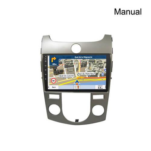 In-Dash Car DVD Navigation Player For KIA Forte Cerato Koup Shuma