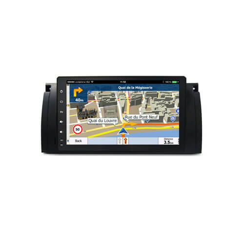 BMW 5 Series E39 Car Stereo Head Unit Android System Navigation