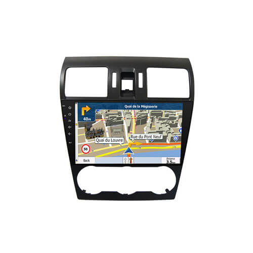 Octa Core Android System Car GPS Navigation For Subaru Forester 2013-2014