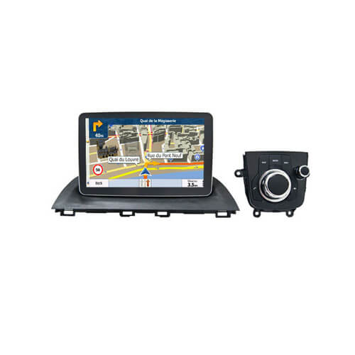 In-Dash Car Stereo With GPS And Bluetooth For Mazda 6 Axela 2014-2017