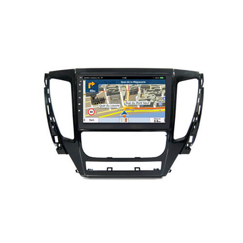 In-Dash DVD Player Touch Screen For Mitsubishi L200 2015-