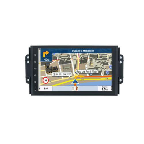 Chery MVM Tiggo 3 Car GPS Navigation With Bluetooth