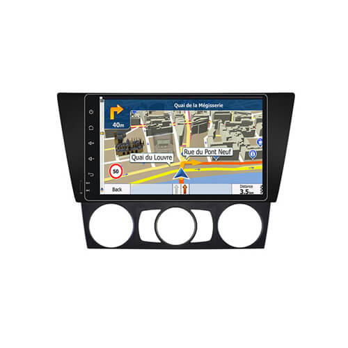 Double Din Radio Device Car DVD Player For BMW E90 2005-2012