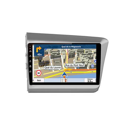 Honda Civic 2012 Android Car GPS Navigation Player