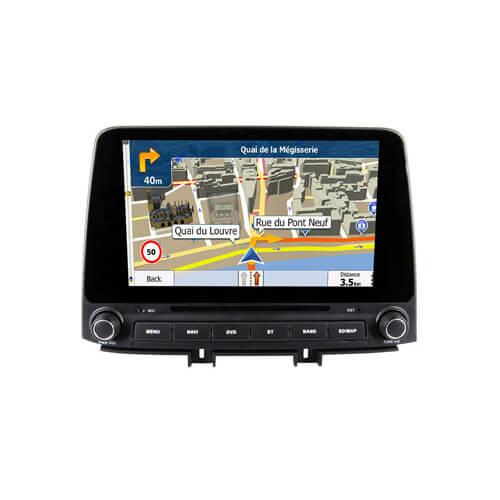 Hyundai Elantra 2018 Android Car DVD Navigation Player