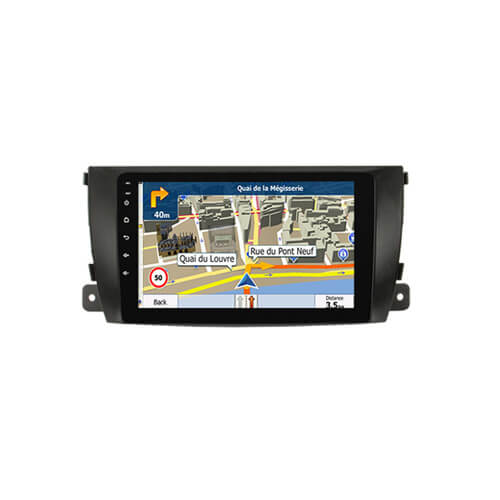 In-Dash Car DVD Radio Navigation Player For Zotye T600