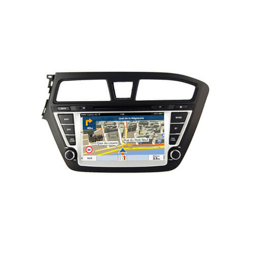 Hyundai i20 In Car Entertainment System With GPS Nav
