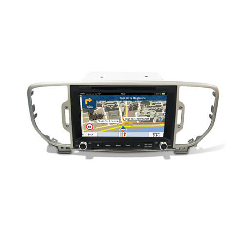 Kia Sportage 2016 Aftermarket Car Stereo With Navigation