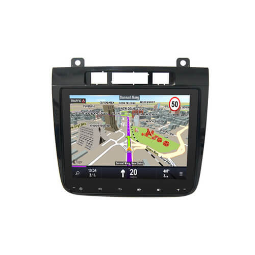 VW Touareg 2010-2016 Aftermarket Double Din Dash Kit
