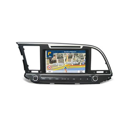 Hyundai Elantra 2017 Aftermarket Navigation System