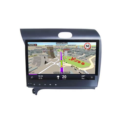 Double Din KIA Cerato K3 Car DVD Player Navigation
