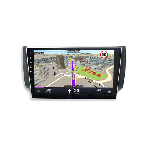 In-Dash Auto Radio Android System GPS Navigation For Nissan Slyphy Bluebird 2012-2013