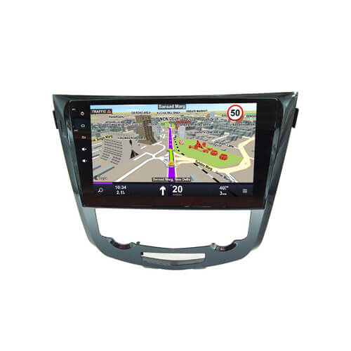 10.1 Inch Full Touch Big Screen Car Audio DVD Player For Nissan Qashqai X-Trail 2013-2016