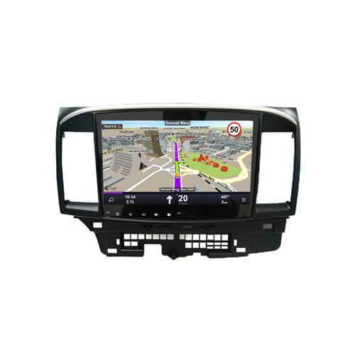 Double Din CAR Stereo For Mitsubishi Lancer EX 2007-2012 With Gps Navigation