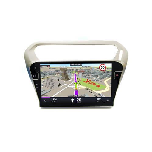 Citroen Elysee/Peugeot 301 2014-2016 10.1 Inch Car Media Player