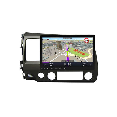 Double Din Head Unit For Honda Civic 2006-2011 With DVD Player