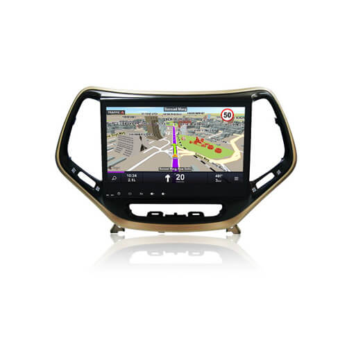 JEEP Cherokee Head Unit Car DVD Player With Bluetooth