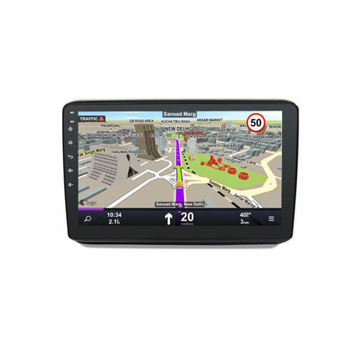 In-Dash Radio Navigation For Honda HRV Vezel 2016-2017 Car DVD Player