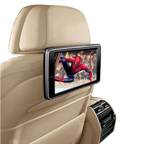 Car Seat Back DVD Player with 10.1-inch Touch Screen