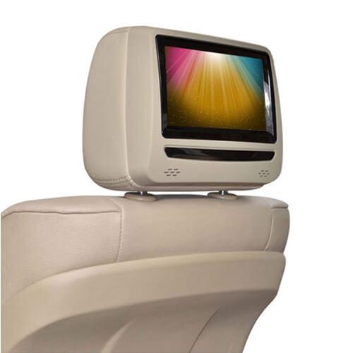7-Inch Touch Screen Headrest DVD Player