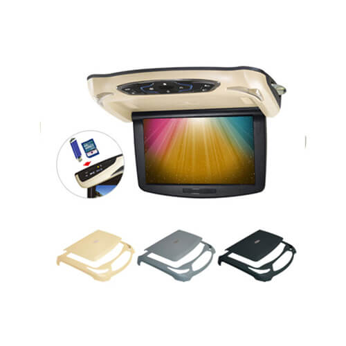 10.2″ Roof Mount DVD Player For Car With IR/FM