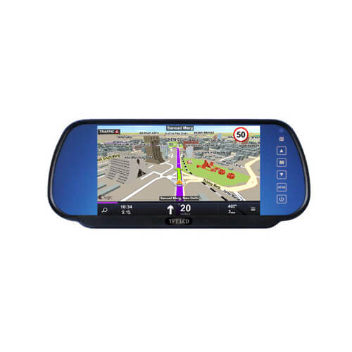 Car Rear View Recorder with MP5 Player