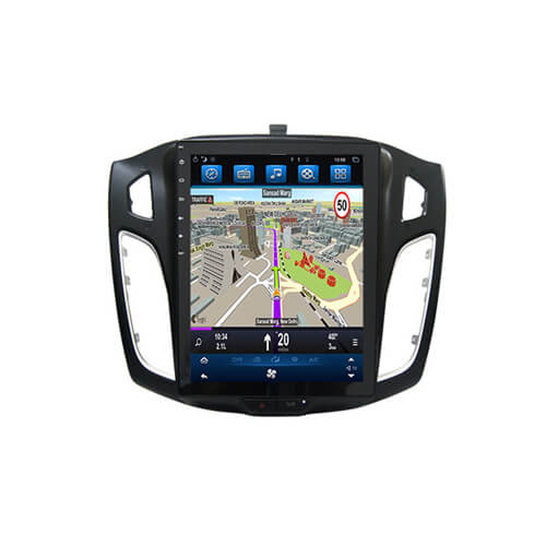 Ford Focus 2012-2017 Tesla Style In Vehicle Entertainment System