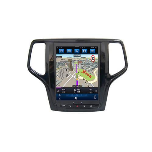 Jeep Grand Cherokee Inbuilt Car GPS System 10.4″ Screen