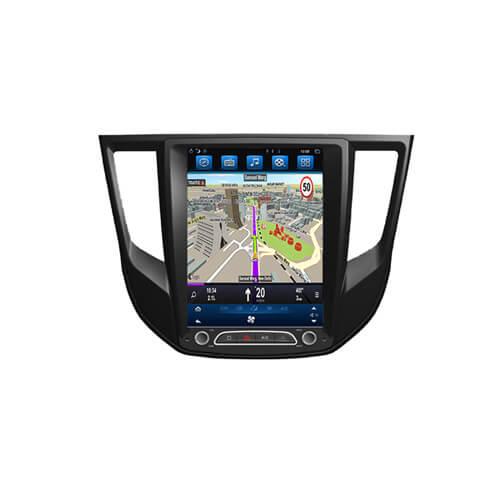 Mitsubishi Lancer 2017 Vertical Screen In Dash Navigation System