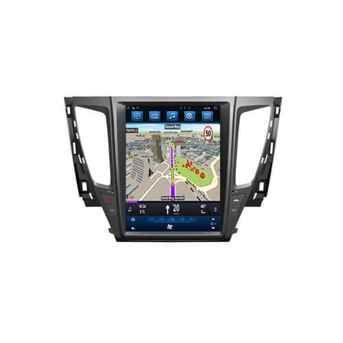 Mitsubishi Pajero Sport L200 In Car GPS Unit 12.1″ Tesla Screen
