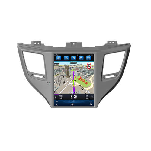 Hyundai Tucson Ix35 2015 Incar Navigation System 9″ Screen