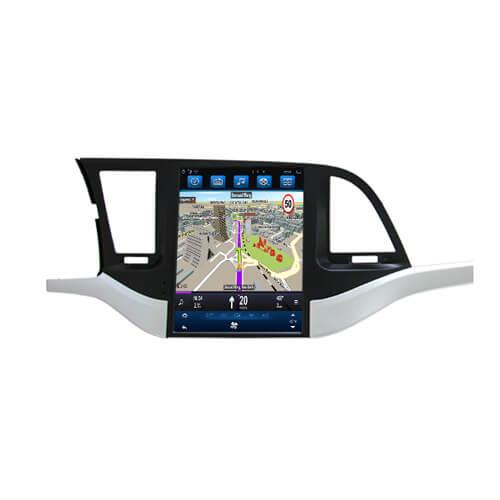 Hyundai Elantra HD Digital Car Entertainment System Tesla Screen