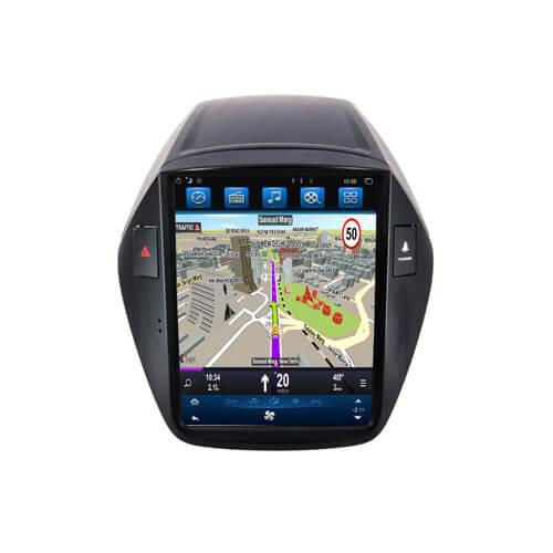 Hyundai IX35 2010 Tesla Style Aftermarket Head Unit With GPS
