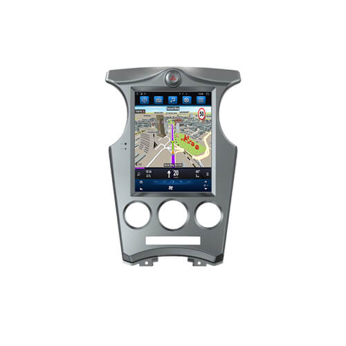 KIA Carens Vertical Screen Car Entertainment System With GPS
