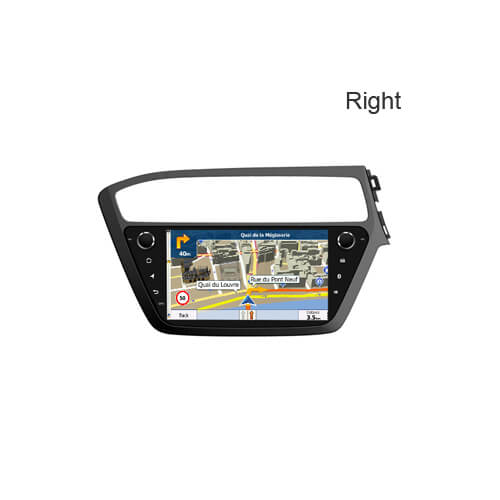 2018 Hyundai I20(Right) 9-inch Car Receiver Double Din