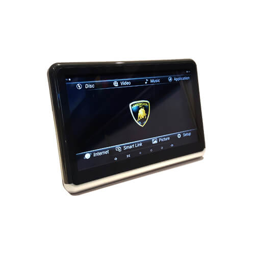 Seat-Back DVD Android Tablet In Car Entertainment