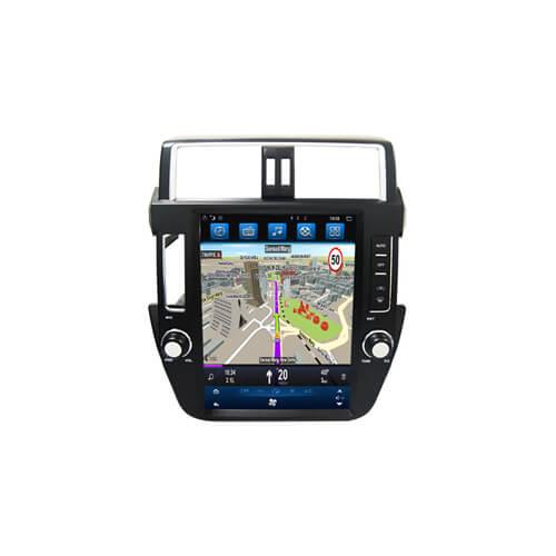 2010 Toyota Prado Integrated Navigation System Vertical Screen
